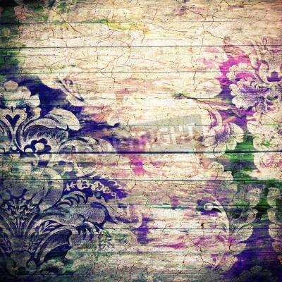 Affisch Abstrakt gamla bakgrund med grunge konsistens. För konst konsistens, grungedesign, och vintage papper eller gräns ram
