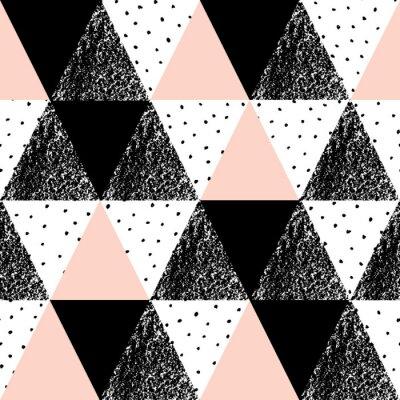 Affisch Abstrakt geometriska mönster