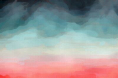 Affisch Abstrakt vattenfärg textur