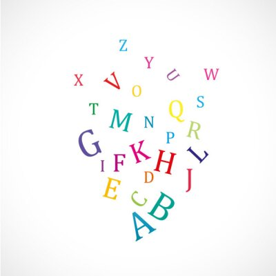 Affisch alfabet