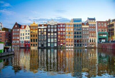 Affisch Amsterdam, Nederländerna