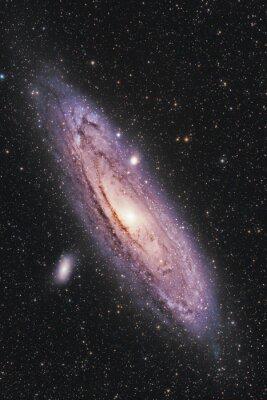 Affisch Andromedagalaxen
