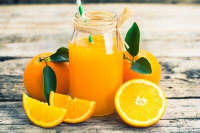 Affisch apelsinjuice