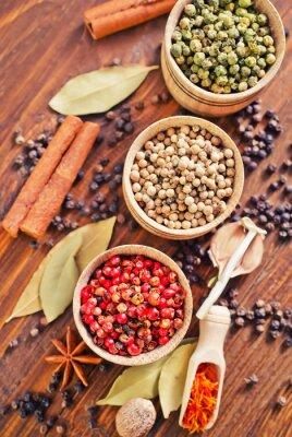 Affisch arom krydda