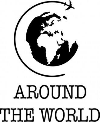 Affisch Around the World