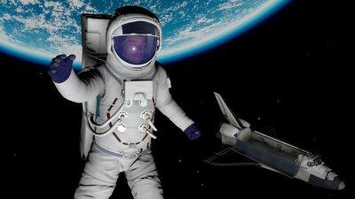 Affisch astronaut