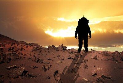 Affisch Astronaut till Mars