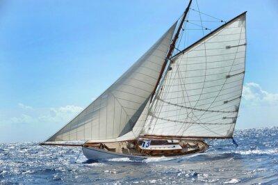 Affisch Barca en vela