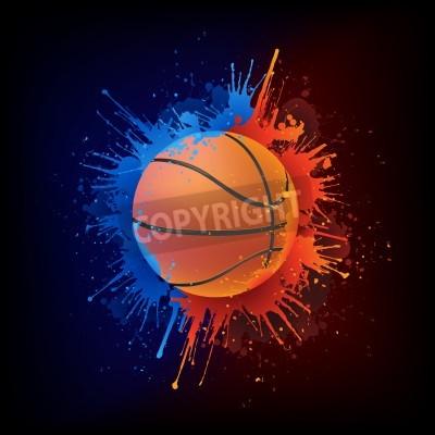 Affisch basket Ball