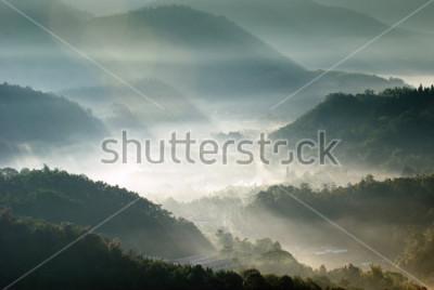 Affisch bergsdalen