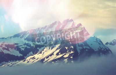 Affisch bergstopp