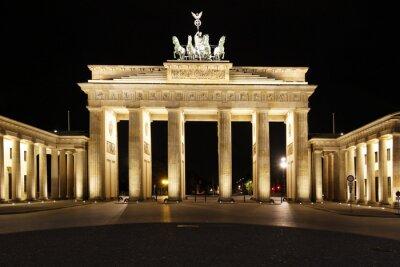 Affisch Berlin - Brandenburger Tor