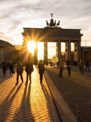 Affisch Berlin, Brandenburger Tor