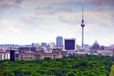 Affisch Berlin stadsbild