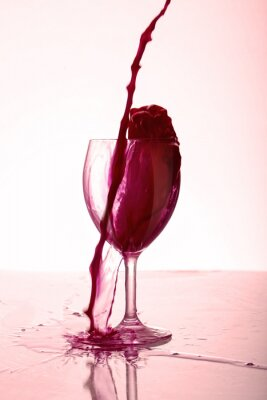 Affisch Bicchiere di Vino