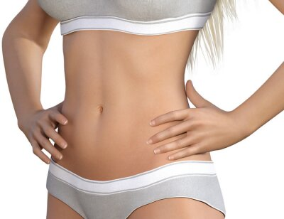 Affisch Body Contour Shaping