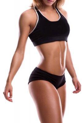 Affisch Body fitness flicka