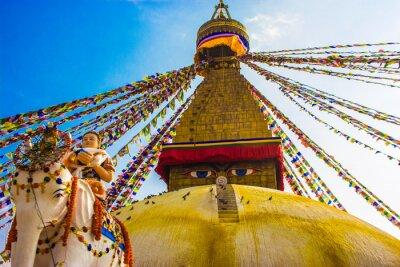 Affisch Bouddhanath Stupa, Katmandu, Nepal