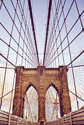Affisch Brooklyn Bridge i New York