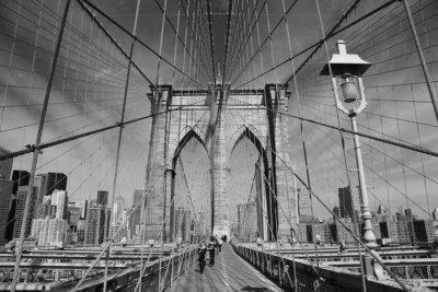 Affisch Brooklyn Bridge, New York