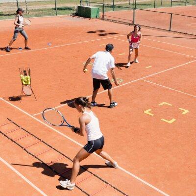 Affisch Cardio tennisträning
