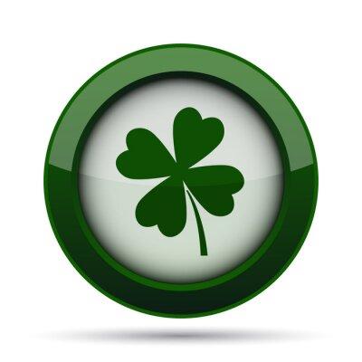 Affisch clover icon