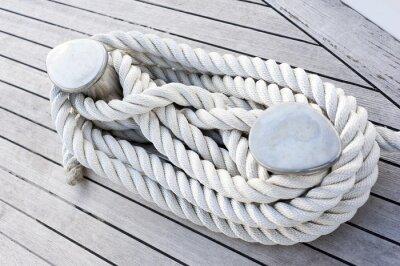 Affisch Corda legata ad una barca