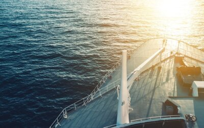 Affisch Cruise Ship Bow