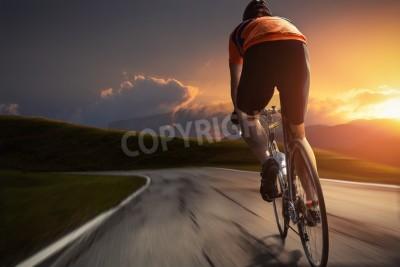 Affisch Cykling
