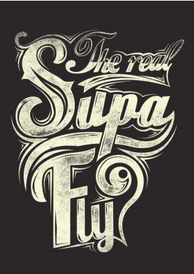 Affisch Den verkliga supa flyga
