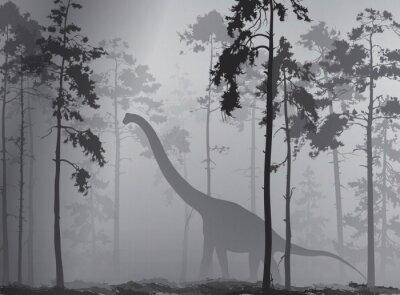 Affisch dinosaurie