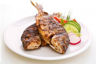Affisch Dorada fisk.