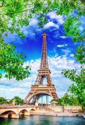 Affisch Eiffeltornet
