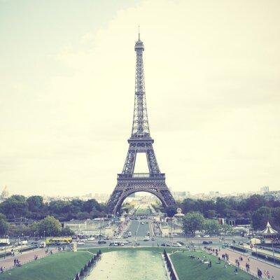 Affisch Eiffeltornet i Paris