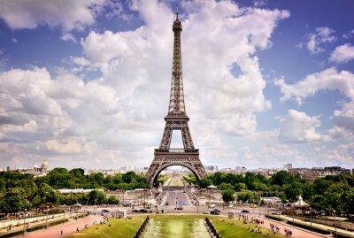 Affisch Eiffeltornet, Paris