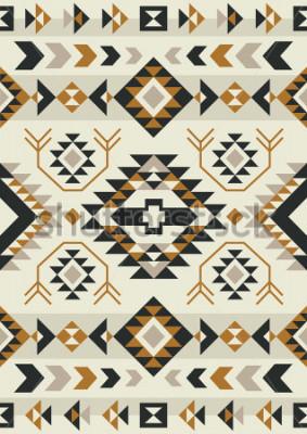 Affisch ethnic pattern design. vector illustration