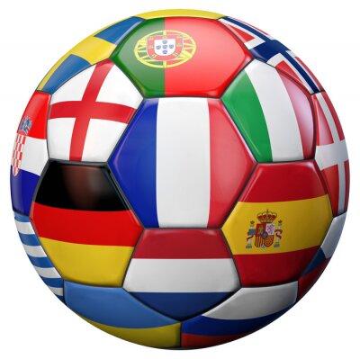 Affisch european Football