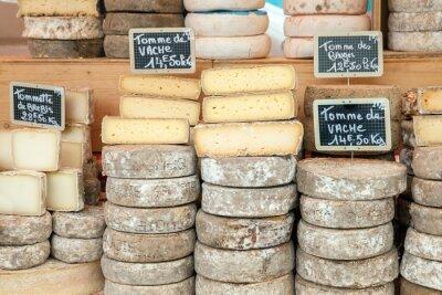 Affisch Farmer ost på marknaden räknare