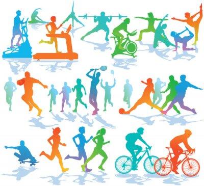 Affisch Fitness och Sport