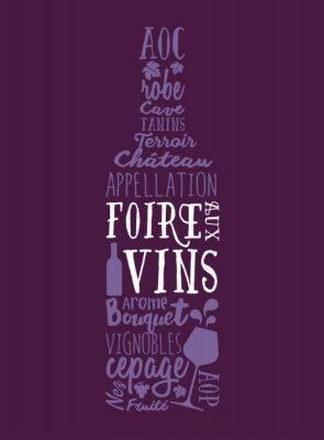 Affisch Foire aux Vins