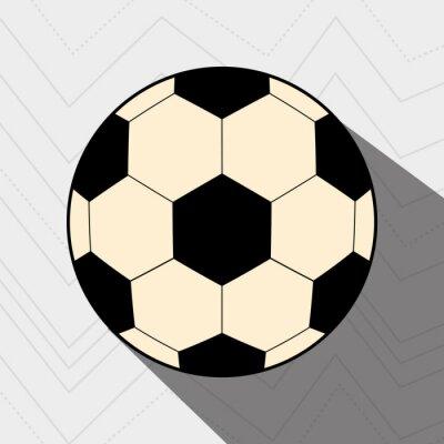 Affisch fotboll fotbolldesign