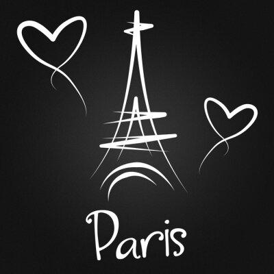 Affisch Från Paris med kärlek