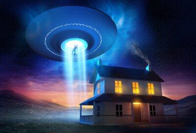 Affisch Från yttre rymden