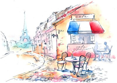 Affisch frankrike