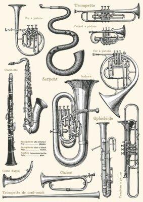 Affisch Fransk musik affisch