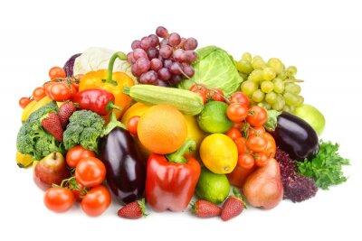 Affisch frukt och grönsaker