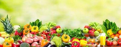 Affisch Frukt och grönsaker.