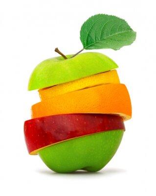 Affisch frukt skivor