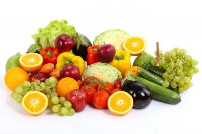 Affisch Frutta e verdura