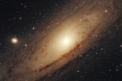 Affisch Galassia di  Andromeda  M31